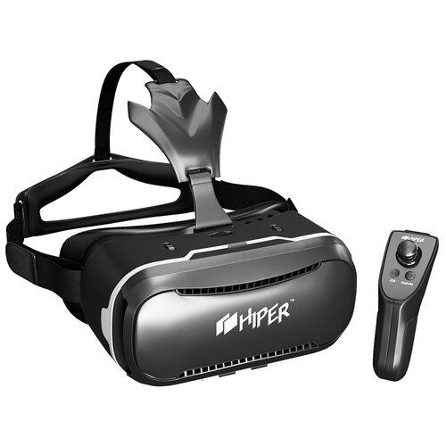 Очки виртуальной реальности для смартфона HIPER VRQ+, черный
