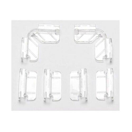 Крепление для покровного стекла для аквариума Dennerle NanoCube 6 шт. прозрачный аквариум dennerle nanocube 20 литров 1 шт