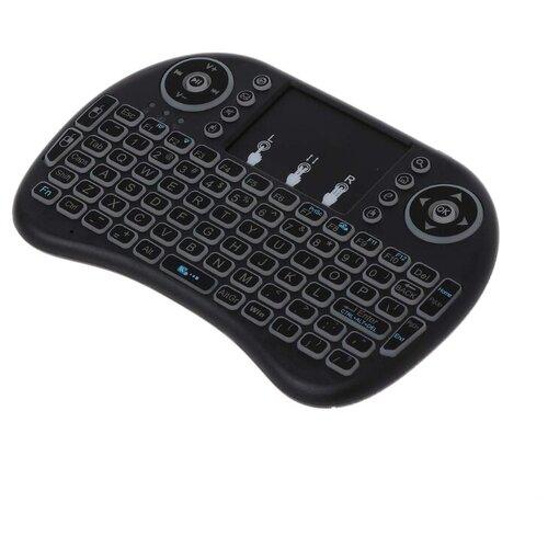 Беспроводная клавиатура Vontar i8 с тачпадом, подсветкой, Li-Ion аккумулятор