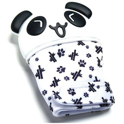 Крошка Я Игрушка для малышей, Развивающая игрушка, прорезыватель-рукавичка Панда, на липучке крошка я игрушка комфортер для новорождённых игрушка для детей первый подарок пинетки