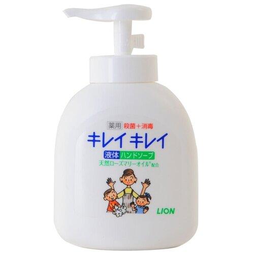 Купить Мыло жидкое Lion Kirei Kirei антибактериальное с ароматом цитруса и маслом розмарина, 250 мл
