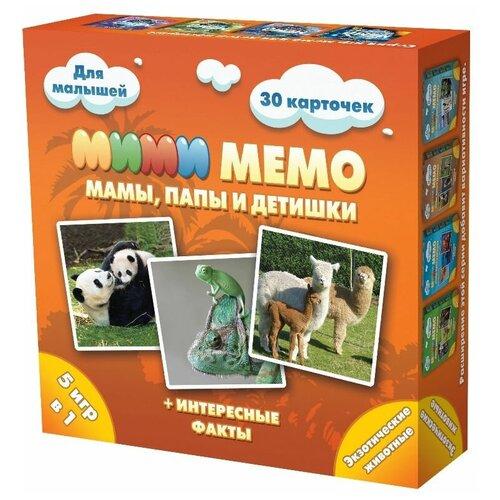 Настольная игра Нескучные игры Мими Мемо Экзотические животные недорого