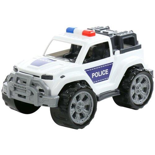 Купить Внедорожник Полесье Легион патрульный №3 Police (77257), 38.5 см, белый/черный, Машинки и техника