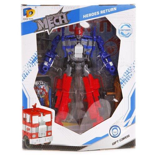 Купить Трансформер Dade Toys Mech Deformation D622-E268 синий/красный, Роботы и трансформеры