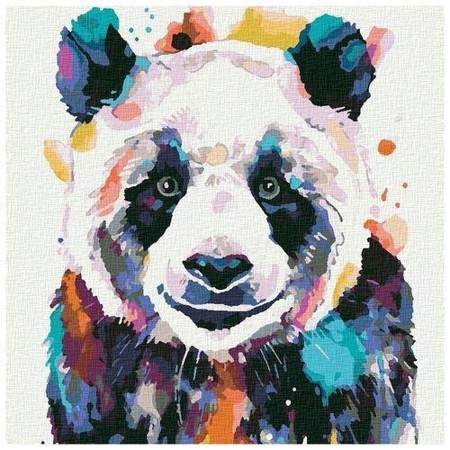 Картина по номерам «Большая панда», 30x30 см, КОТЕИН