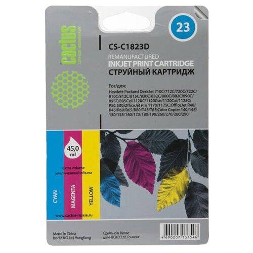 Фото - Картридж cactus CS-C1823D 23, совместимый картридж cactus cs c051h совместимый