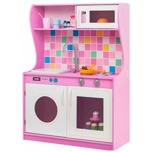 Кухня PAREMO Алвеоло Лилла Мини PK218-14 розовый/белый