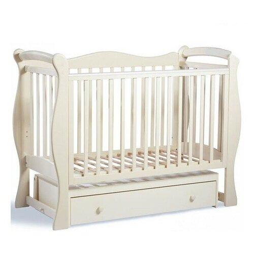 Купить Кроватка SWEET BABY Dolce Vita (классическая), поперечный маятник слоновая кость, Кроватки