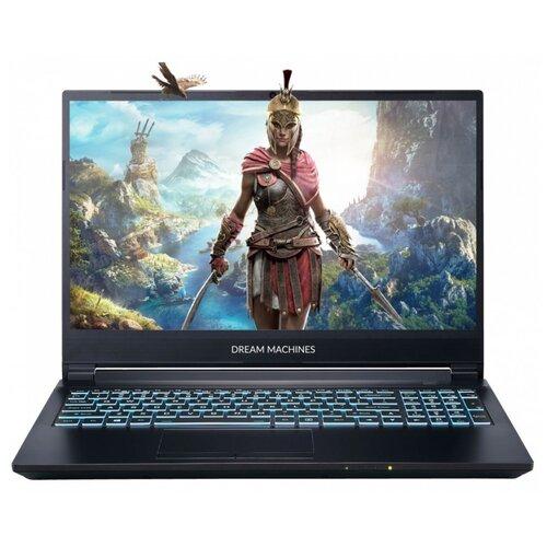 "Ноутбук Dream Machines G1650Ti-15RU41 (Intel Core i5 10300H/15.6""/1920x1080/16 Gb/512 Gb SSD/NVIDIA GeForce GTX 1650 Ti 4 Gb/Без ОС) G1650Ti-15RU41 черный"