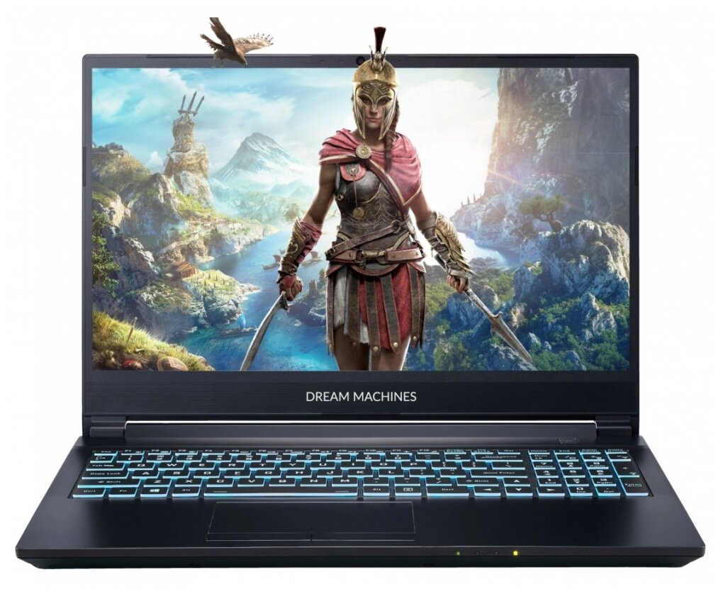 "Ноутбук Dream Machines G1650Ti-15RU41 (Intel Core i5 10300H/15.6""/1920x1080/16 Gb/512 Gb SSD/NVIDIA GeForce GTX 1650 Ti 4 Gb/Без ОС) — купить по выгодной цене на Яндекс.Маркете"