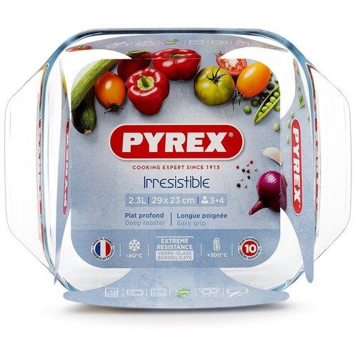 Фото - Блюдо Pyrex Irresistible 29х23см квадратное, прозрачное блюдо pyrex irresistible 35х24см овальное