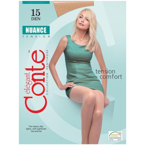 Колготки Conte Elegant Nuance, 15 den, размер 3, natural (бежевый)