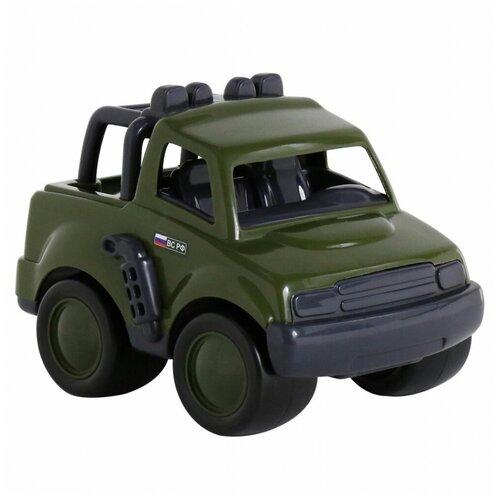 Купить Внедорожник Полесье военный (48707), 26 см, зелeный, Машинки и техника