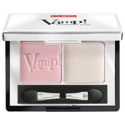 Купить Pupa Тени для век Vamp! Compact Duo 001 rose perlage