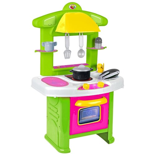 Купить Кухня Coloma Y Pastor Яна 58874/53459/90544 бело-зеленый, Детские кухни и бытовая техника