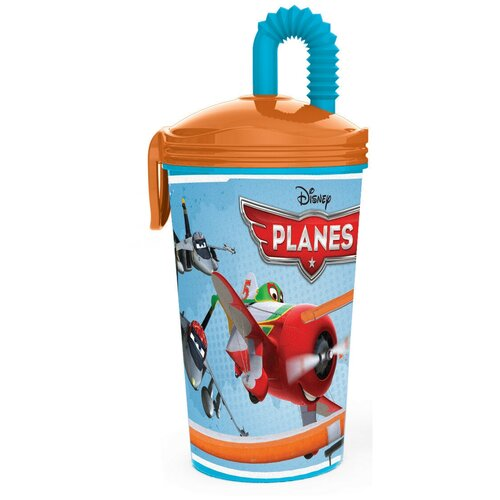 Купить Стакан с соломинкой Самолеты (430 мл), Stor, Посуда