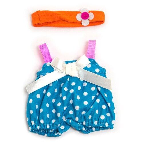 Miniland для куклы Warm Weather Jumper Set голубой/оранжевый