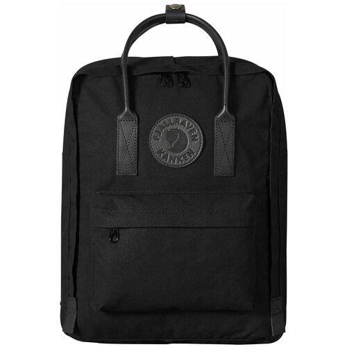 Фото - Городской рюкзак Fjallraven Kånken No.2 black edition 16, черный рюкзак fjallraven kånken no 2 laptop 15 black edition 18 черный