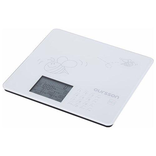 Фото - Кухонные весы Oursson KS0502GD/IV весы кухонные oursson ks0504pd dc