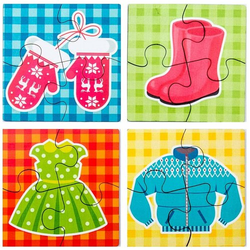 WoodlandToys Пазл для малышей