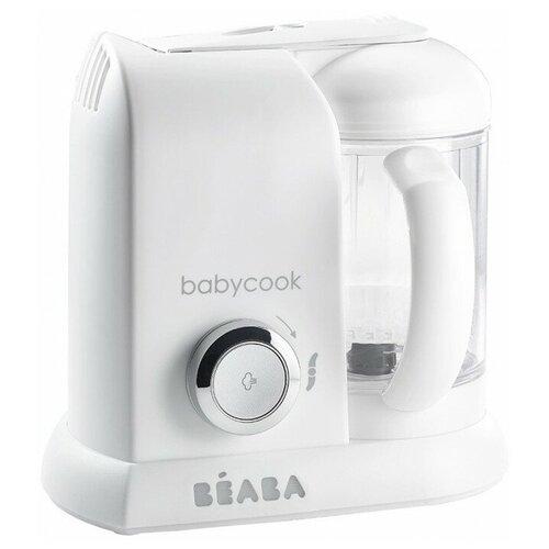 Блендер-пароварка Beaba Babycook Solo white/silver