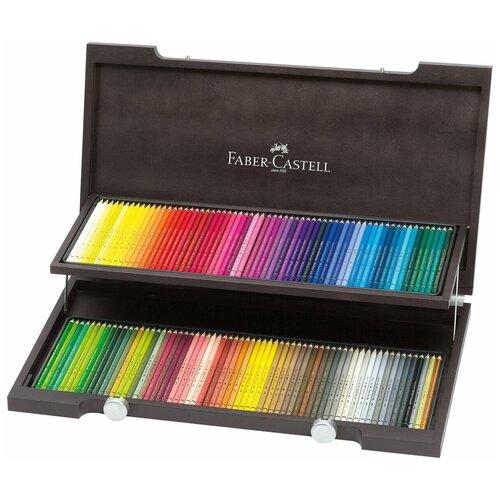 Faber-Castell Карандаши акварельные Albrecht Durer, 120 цветов, деревянная коробка (117513)