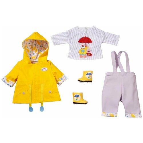 Купить ZAPF CREATION BABY BORN 828-137 БЭБИ БОРН НАБОР ОДЕЖДЫ ДОЖДЛИВЫЕ ДЕНЬКИ, 43 СМ, Одежда для кукол