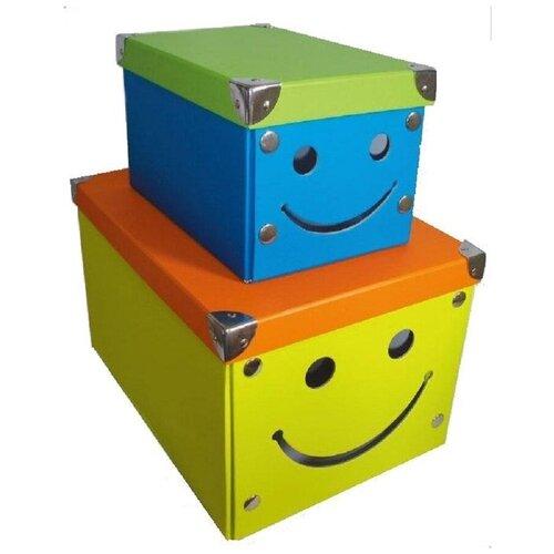 Коробка для хранения складная картон для детского хранения Storidea