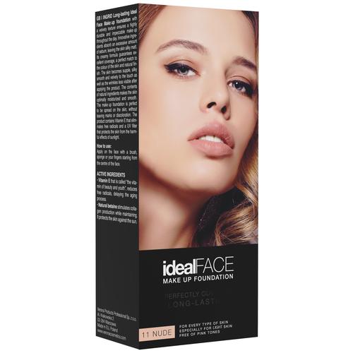 Ingrid Cosmetics Тональный крем Ideal Face, оттенок: 11 nude недорого