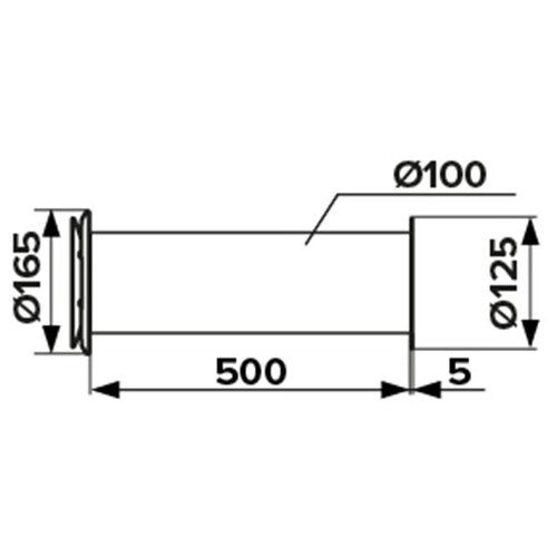 Клапан вентиляционный (рекуператор) приточный ERA d100 мм выход era стенной вентиляционный вытяжной металлический с фланцем d100 10вм