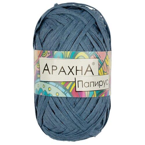 Купить Набор пряжи ARACHNA Papyrus, 100% целлюлоза, 10*40+/-3 г, 50+/-4 м, №09, синий, Изготовление кукол и игрушек