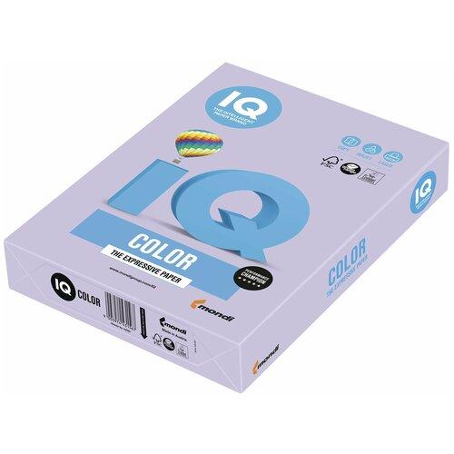 Фото - Бумага IQ Color А4 160 г/м² 250 лист., бледно-лиловый LA12 бумага iq color а4 160 г м² 250 лист 5 пачк золотистый go22