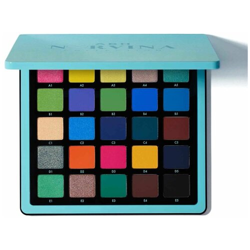 Anastasia Beverly Hills Палетка теней Norvina Pro Pigment Palette vol. 2