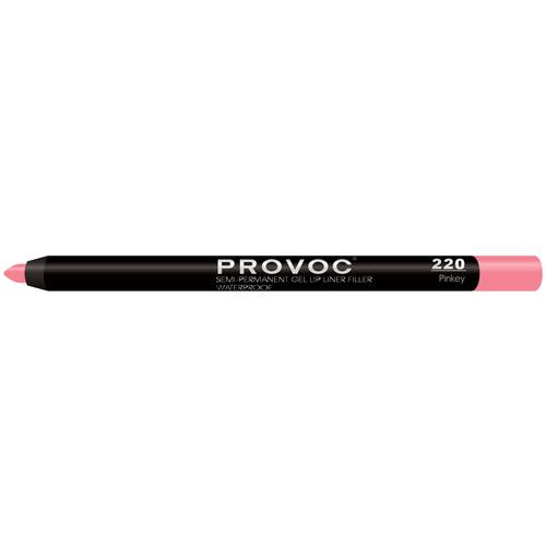 Provoc гелевая подводка в карандаше для губ Semi-Permanent Gel Lip Liner 220 pinkey недорого