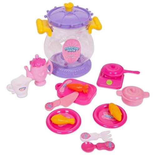Фото - Игровой набор ABtoys Помогаю маме PT-00402 розовый/фиолетовый/желтый набор abtoys помогаю маме pt 01342 розовый белый