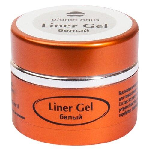Купить Краска гелевая planet nails Liner Gel для тонких линий белый