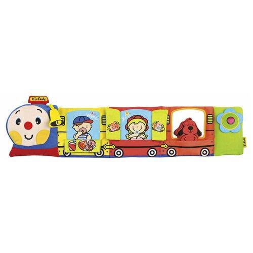 Фото - Интерактивная развивающая игрушка K's Kids Паровозик Чух-Чух интерактивная развивающая игрушка k s kids паровозик чух чух