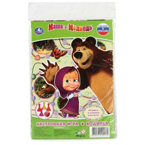 Настольная игра Умка Маша и медведь. Ходилка настольная игра умка маша и медведь викторина 500 вопросов