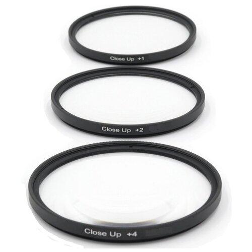 Фото - Набор макрофильтров Fujimi CUS58 с диоптрией +1, +2, +4 (58 мм) printio набор конфет 4 шоколадки елки