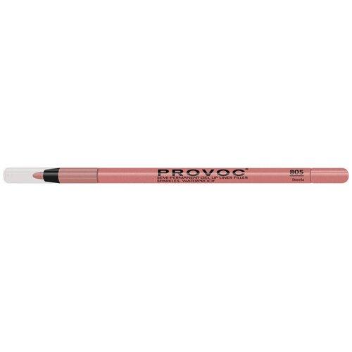Provoc гелевая подводка в карандаше для губ Semi-Permanent Gel Lip Liner 805 steela недорого