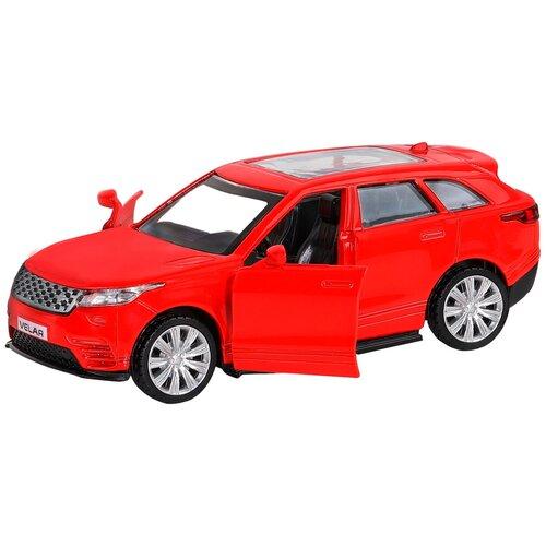 Фото - Легковой автомобиль Автопанорама Land Rover Range Rover Velar (JB1200176/JB1200177), красный легковой автомобиль rastar land rover range rover sport 30300 1 24 21 см красный