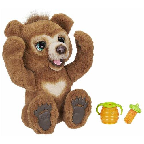 Интерактивная мягкая игрушка FurReal Friends Русский мишка E4591 коричневый