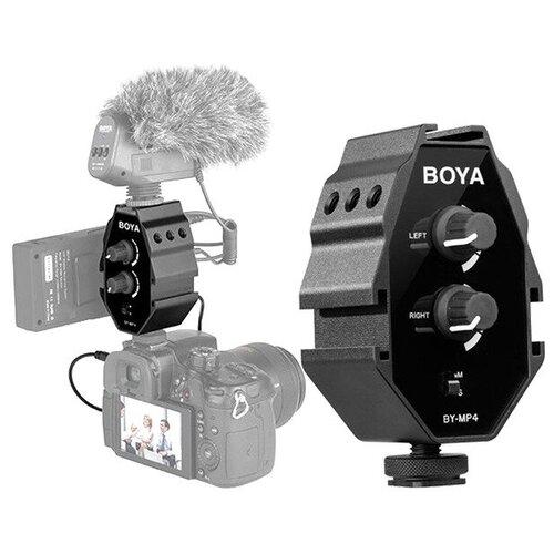 Фото - Аудиоадаптер BOYA BY-MP4 boya by c03 амортизатор для микрофона