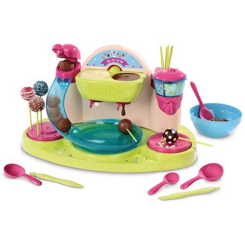 Кондитерская фабрика Smoby для приготовления конфет 312103 бежевый/зеленый/розовый/голубой