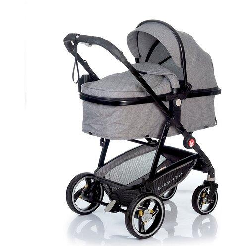 Фото - Коляска-трансформер Babyhit Winger, light grey прогулочная коляска babyhit allure бежевый серый