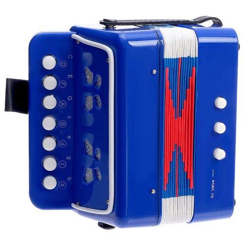 Купить Zabiaka аккордеон Гармонь 3794750 синий/красный/белый, Детские музыкальные инструменты