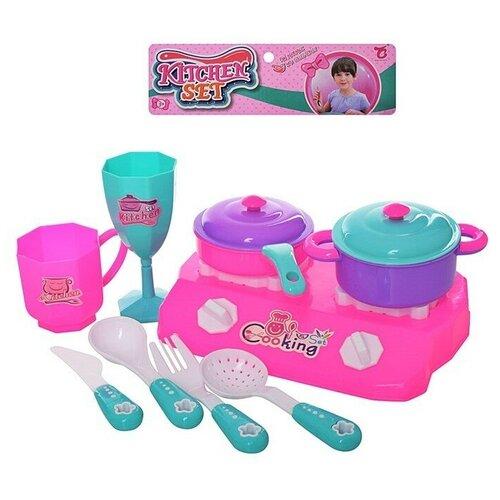 Игровой набор Shantou Gepai B1796129 розовый/голубой внедорожник shantou gepai 6149d dt 20 см голубой белый