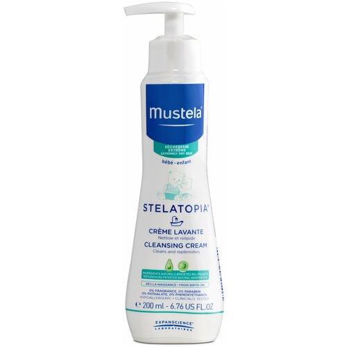 Купить Mustela Крем для купания Stelatopia, 200 мл, Средства для купания