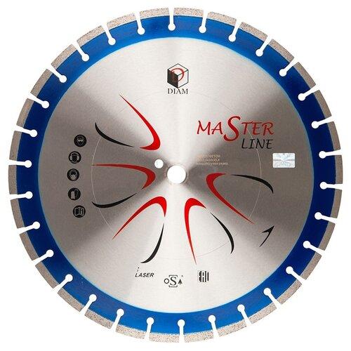Фото - Диск алмазный отрезной DIAM Master Line 000505, 450 мм 1 шт. diam 030657 62 x 450 мм