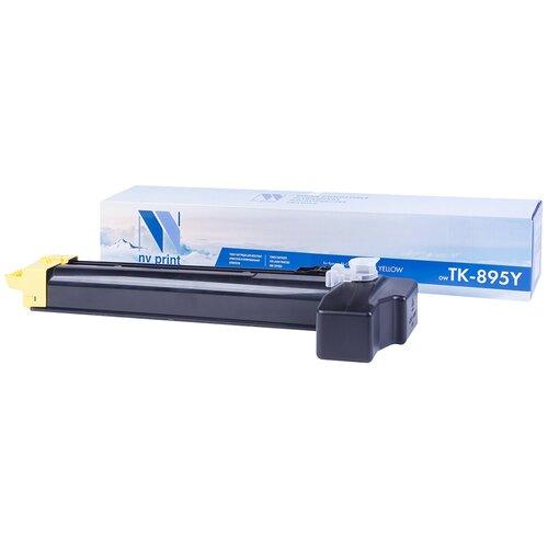Фото - Картридж NV Print TK-895 Yellow для Kyocera, совместимый картридж nv print tk 895 yellow для kyocera совместимый